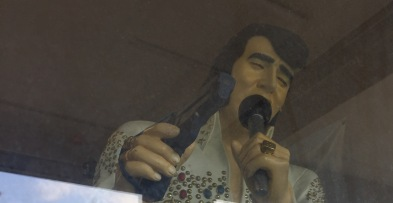 Pittsboro Gunshop Window Display - Elvis