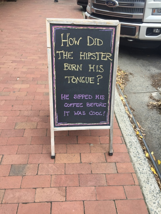 Hipster Coffee Joke