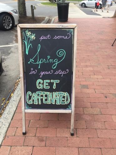Get Caffeinated