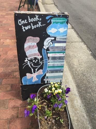 Circle Bookstore Sign