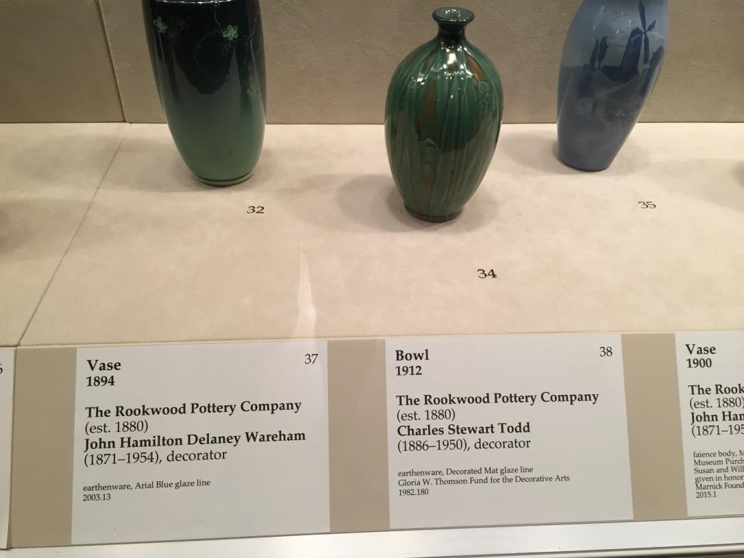 Rookwood vases
