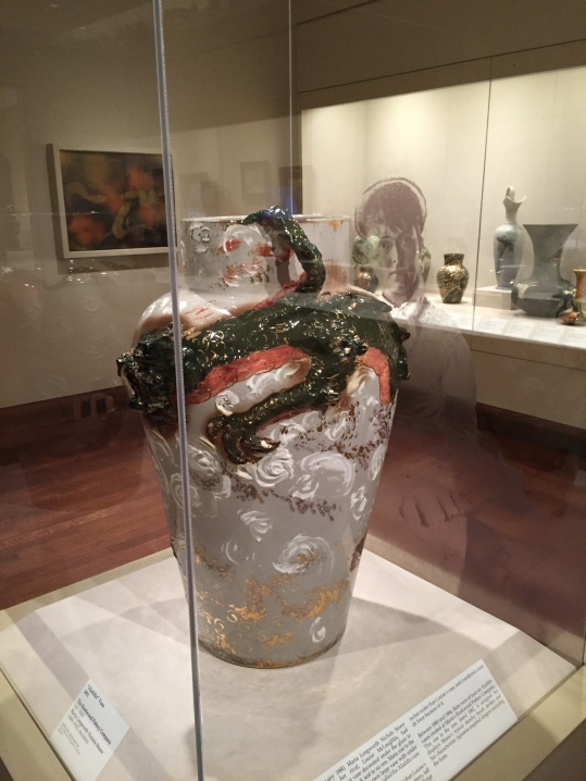 M. Louis Mc Laughlin Dragon Vase