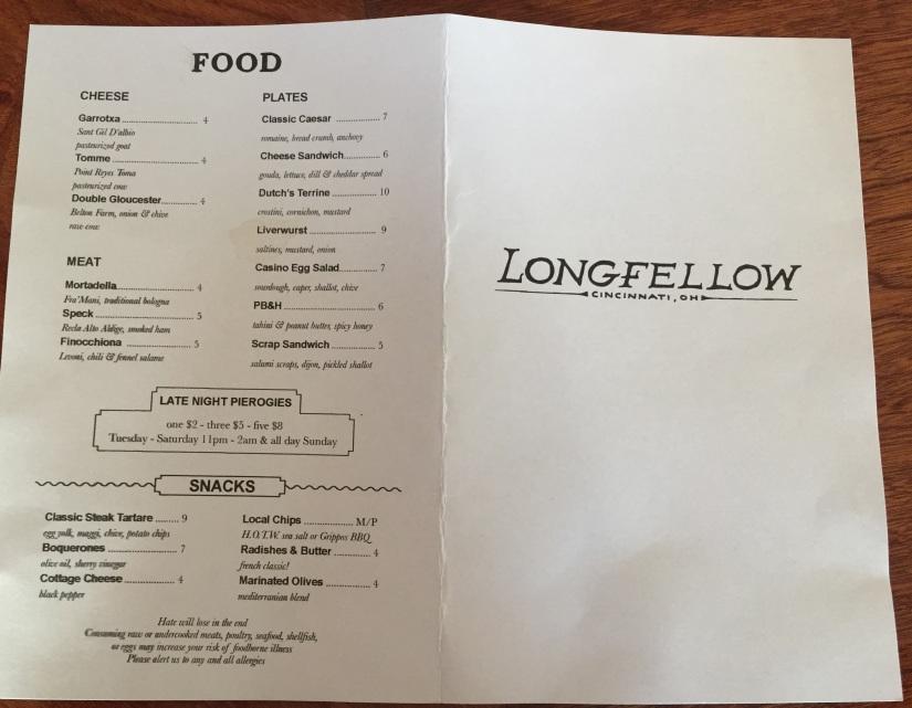 Longfellow Food.JPG