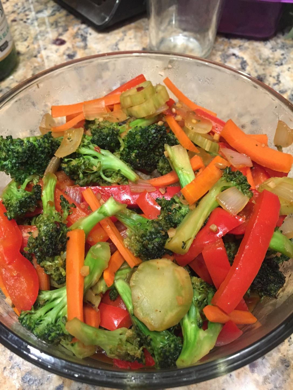 Quick Broccoli Stir Fry