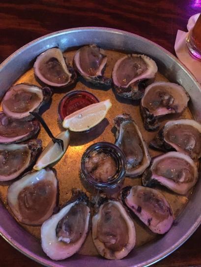 Baker's dozen of Southern Style Oysters