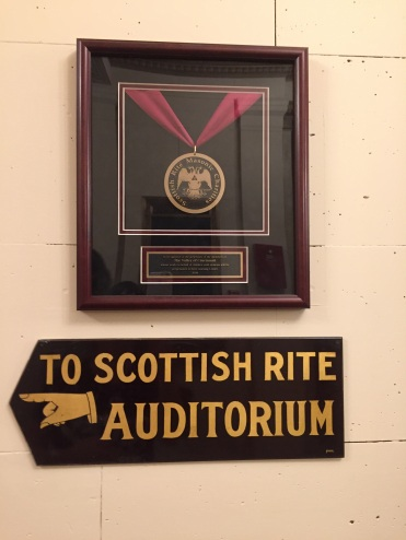 What's a Scottish Rite? Three left turns! (Rim Shote)