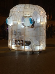 Students at UC's DAAP juiced up their creativity with light up entrants.