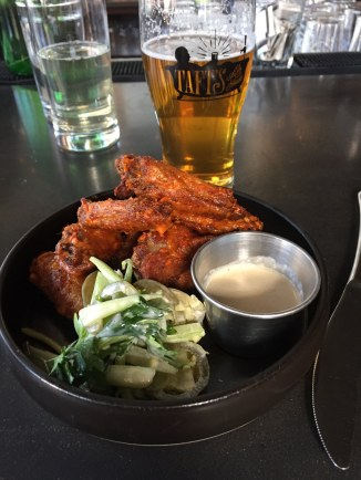 Delicious Wings. Ridiculous Condiments.