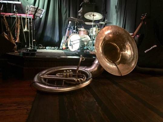 Huntertones brass!