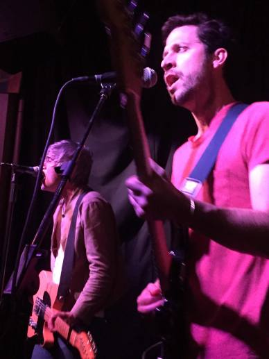 The two original members of We Are Scientists, Keith Murray and Chris Cain