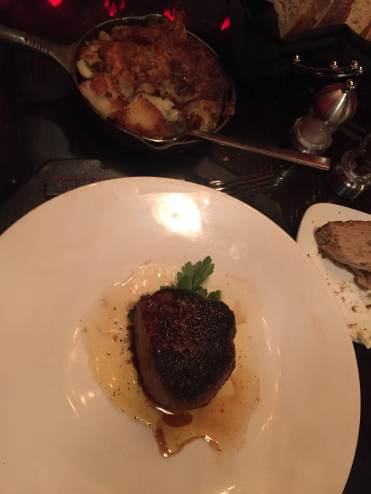 Steak. Fillet. Not what I ordered, but whatever.