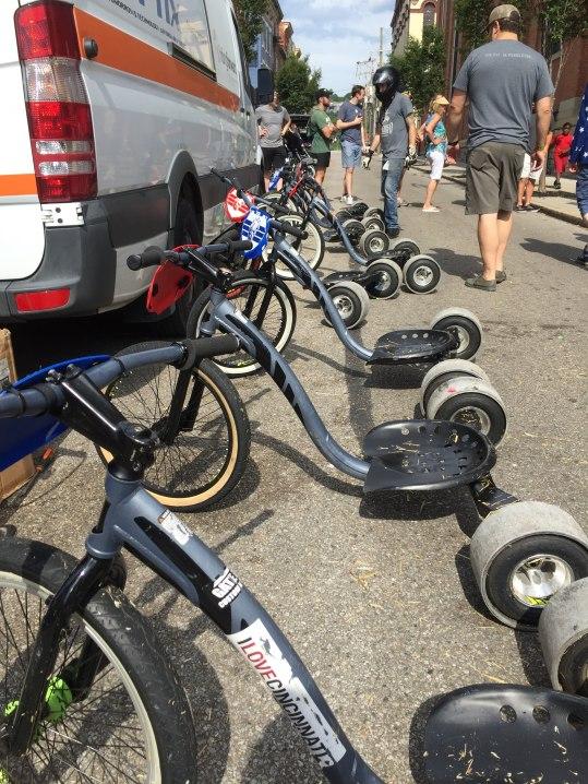 Big Wheels...keep on rollin'.