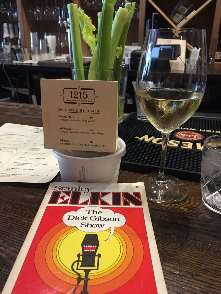 1215 wine and book