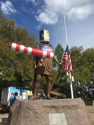 Cincinnatus decked out for Riverfest