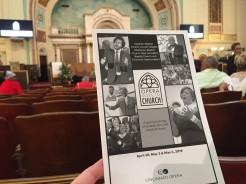 Opera goes to church