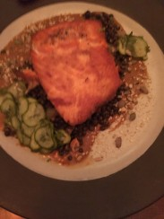 Terrible pic of delicious salmon