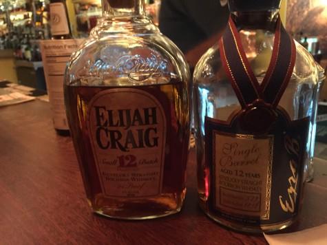 12 year bourbon, both relatively rare.