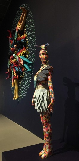 Saya Woolfalk at the CAC